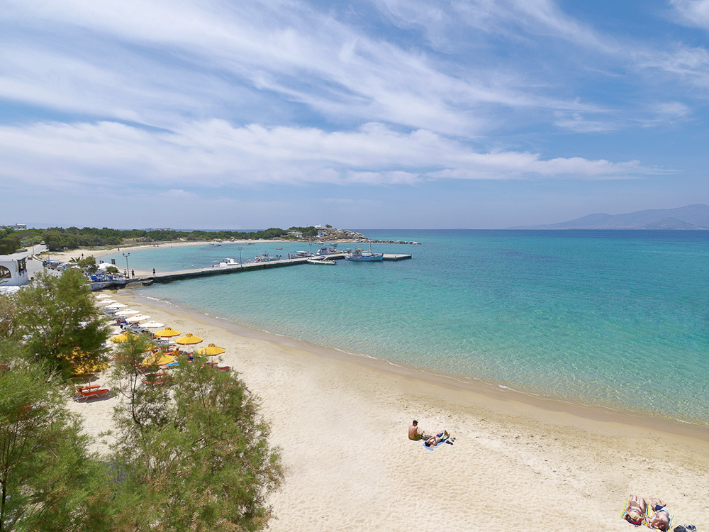 Beach on Naxos - Photo by S. Lambadaridis