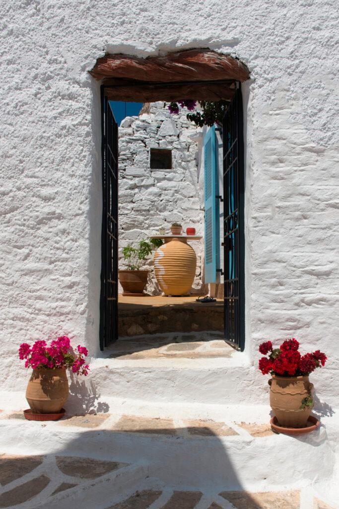 Old Chora Sikinos island, Greece
