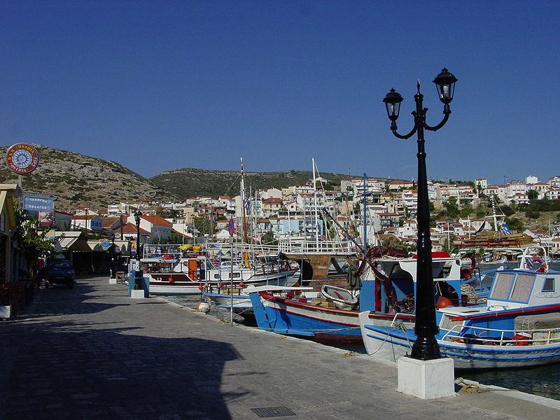 Pythagoreion port, Samos, Greece