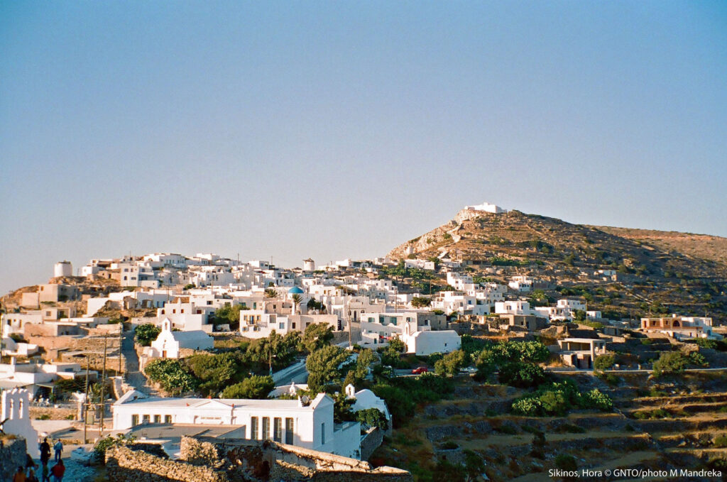 travel to sikinos, Cyclades Islands in Greece