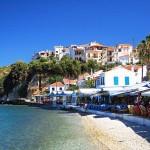 Villlage of Kokkari, Samos, Greece