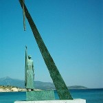 Pythagoras Monument, Vathy, Samos