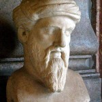 Bust of Pythagoras of Samos (in Rome)