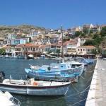 Pythagoreion harbor, Samos, Greece