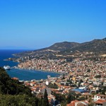 View of Vathy, Samos, Greece