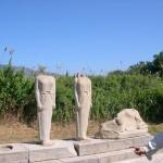 Ruins at Heraion on Samos, Greece