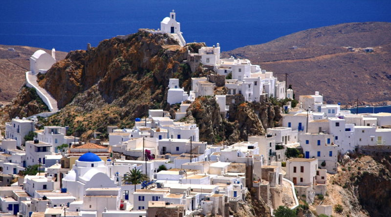 Serifos Chora - Photo by S. Lambadaridis