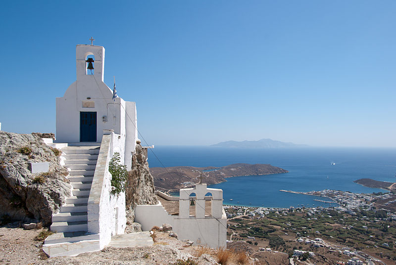 Chora of Serifos, Greece