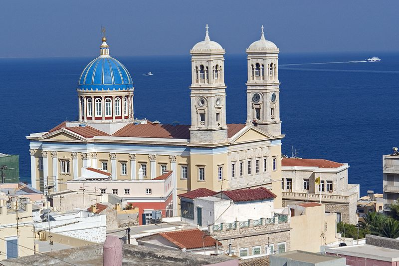 The Cathedral of Saint Nicholas, Syros, Greece