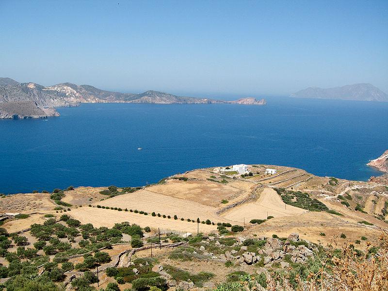 The bay of Milos