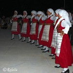 Traditional dancing group of girls from Koufonisi, Greece