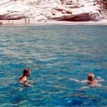 clear water in milos