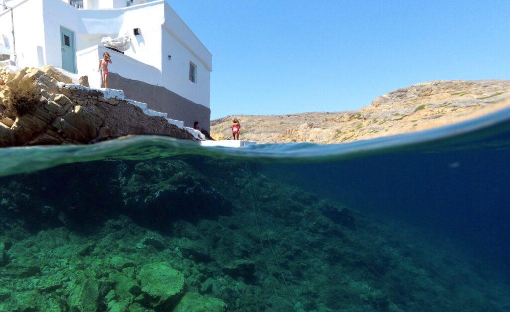 Sifnos, Greece - Cheronissos - Photo August Politis