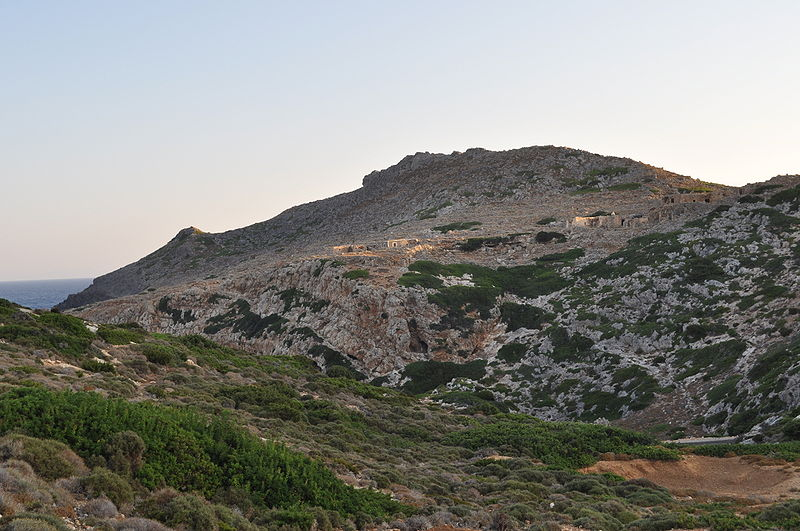 The castle of Antikythera