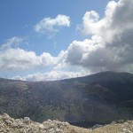 Agia Dynati, the second highest mountain on Kefalonia