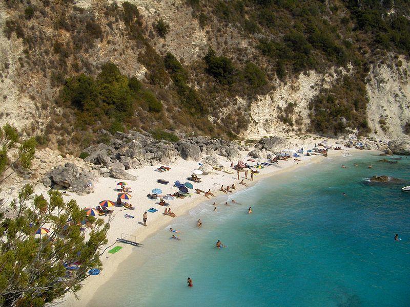 Agiofyli Beach, Lefkada