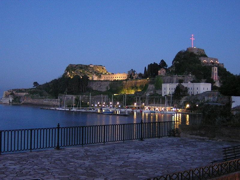Corfu old citadel