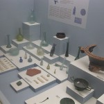 Excavations from Melissani. Today in the Archaeological Museum of Argostoli