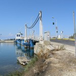 Floating bridge to Lefkada