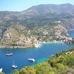 Kefalonia, view from Assos