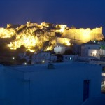 Kythira Castle of Kythira by night