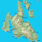 Map of Cephalonia, click to enlarge