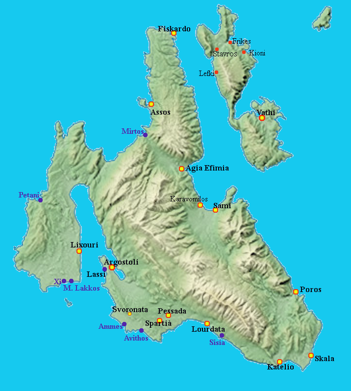Second Largest Of Greek Ionian Islands