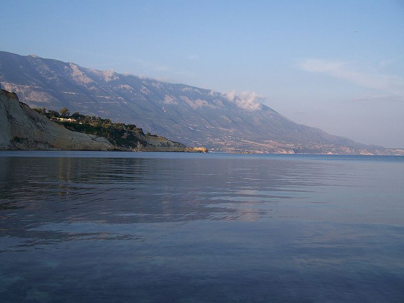 Mount Ainos, the higest mountain in Cephalonia