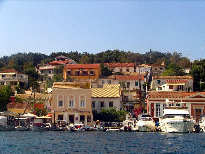 Gaios town, Paxos, Ionian Islands, Greece