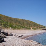 Fyri Ammos Beach near Kalamos, Kythira