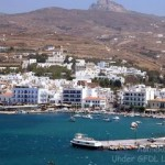 Port of Tinos, also known as Chora