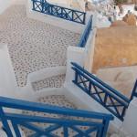 Santorini - steep flights