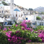 The village of Agapi on the island of Tinos
