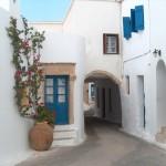 Through the narrow streets of Chora