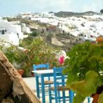 Traditional Santorini settings