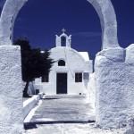 Traditional church on Santorini