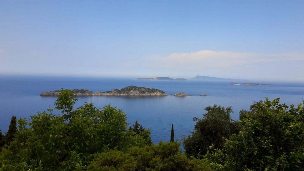 Travel to Corfu, Greece - sea and islets