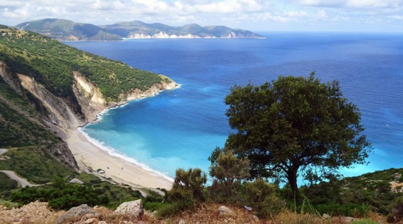 Myrtos Beach, Cephalonia, Greece