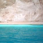 Blue waters of Zakynthos