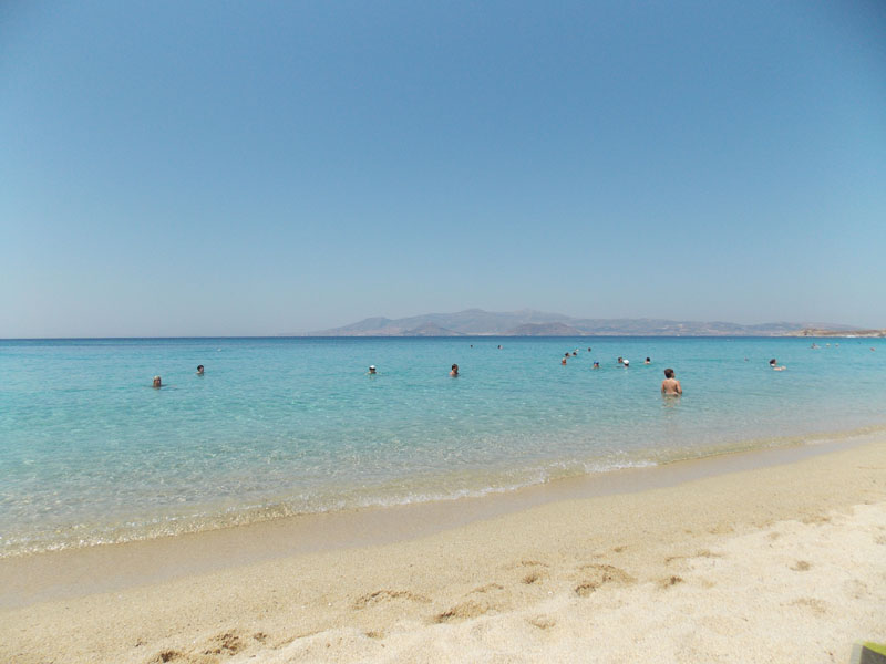 Agios Prokopios, one of the most beautiful beaches of Naxos