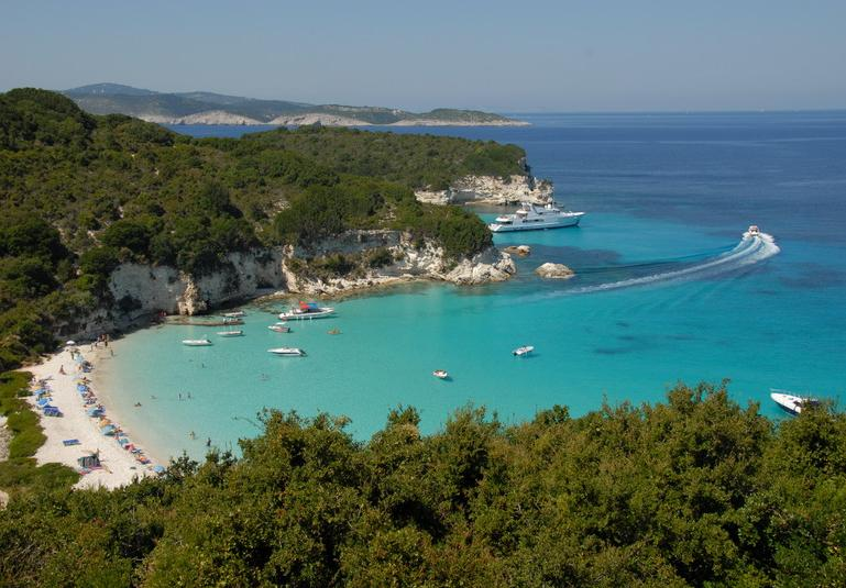Travel to Antipaxos Island, Greece