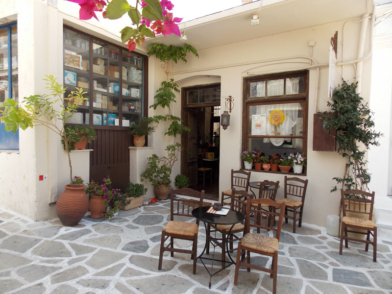 Chalki village, Naxos