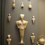 Cycladic idols-figurines