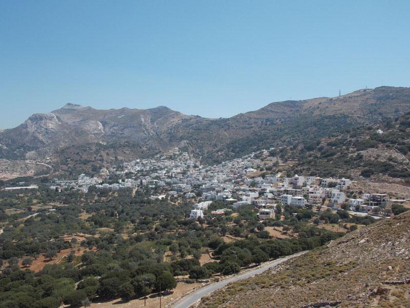 Filoti village, Naxos