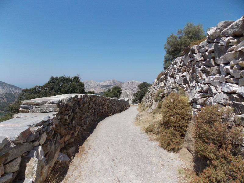 Path at Zeus Cave, Naxos