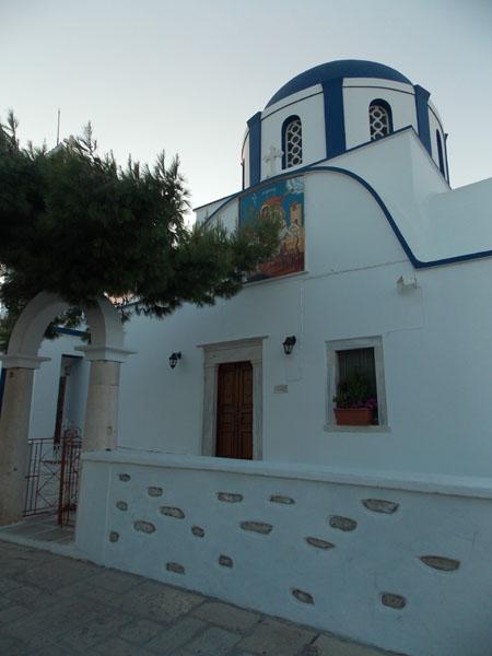 Saint George Church in the village, Koufonisi