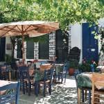 Taverna in Filóti, Naxos