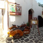 """The Old Inn"" restaurant in Chora, Naxos"