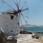 The old windmill at Spilia, Koufonisi