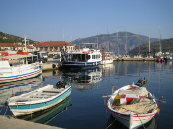 Vathy Harbour, Meganisi, Ionian Islands